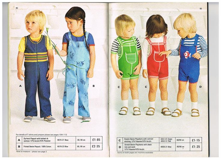 I collect vintage Mothercare clothes. This is a scan from the Mothercare 1976 summer catalogue.... If anyone can help me finding more vintage Mothercare clothes like these, I would be so happy!