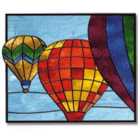 Free Pattern, Hot Air Balloons