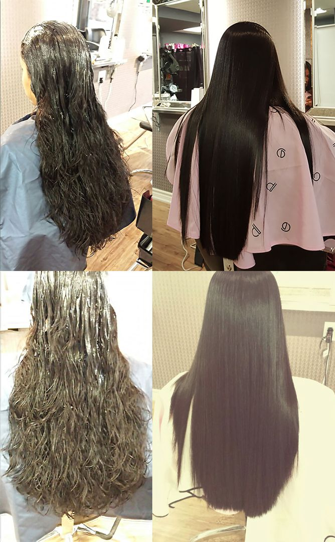 A full clip of the hair transformation by Japanese straight perm is available @ https://youtu.be/wYBNQDpTky0