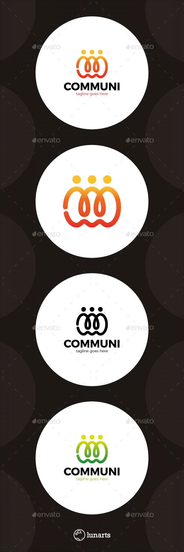 Community Social Care Logo — Vector EPS #youth #fun • Available here → https://graphicriver.net/item/community-social-care-logo-/15489559?ref=pxcr