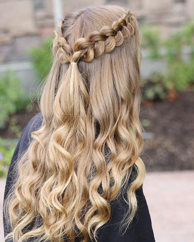 Loved Doing My Cute Friend's Hair For Homecoming Yesterday