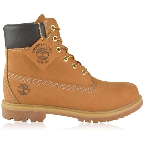 TIMBERLAND Classic Boots (€190) ❤ liked on Polyvore featuring shoes, boots, genuine leather shoes, timberland shoes, hi tops, leather high tops and timberland footwear