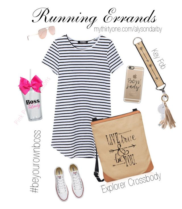 """""""Running Errands"""" by darbybags on Polyvore featuring Converse, Casetify, Quay, Rembrandt Charms and Merkury Innovations"""