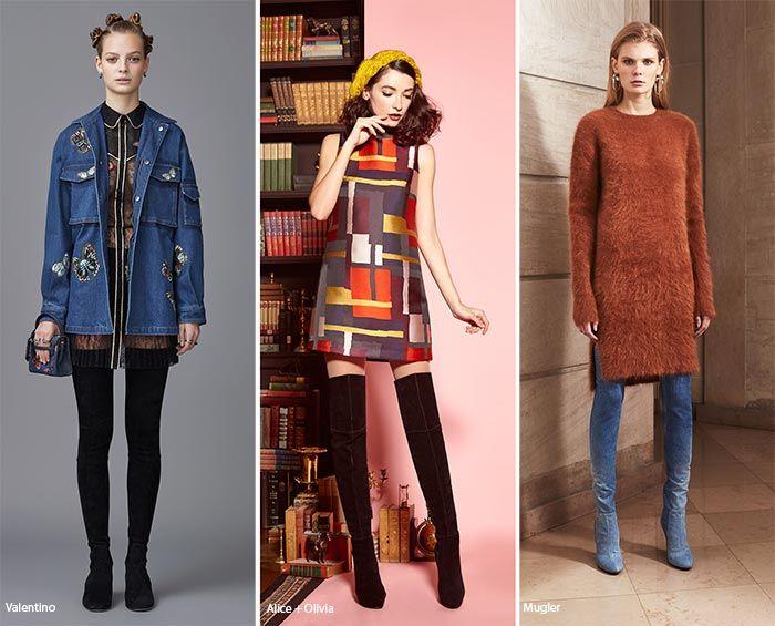 Pre-Fall 2016 Modetrends: dij-hoge laarzen