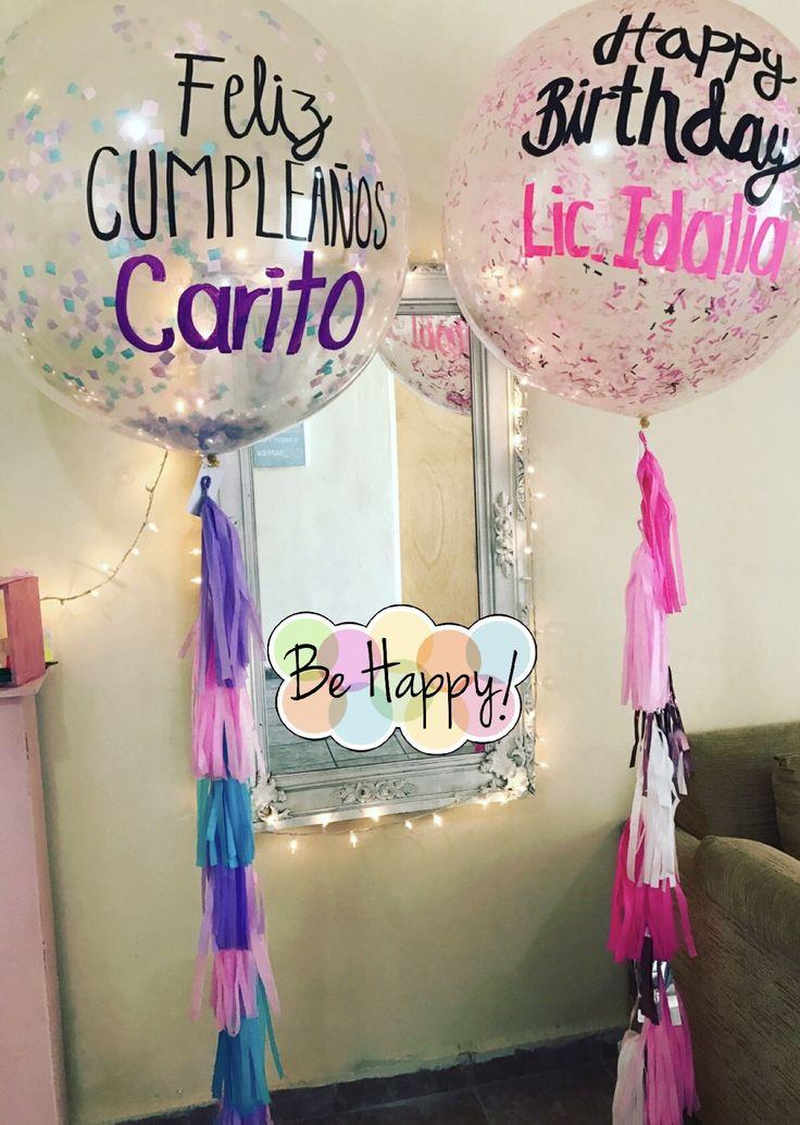 17 mejores ideas sobre globos gigantes en pinterest - Globos para decorar ...