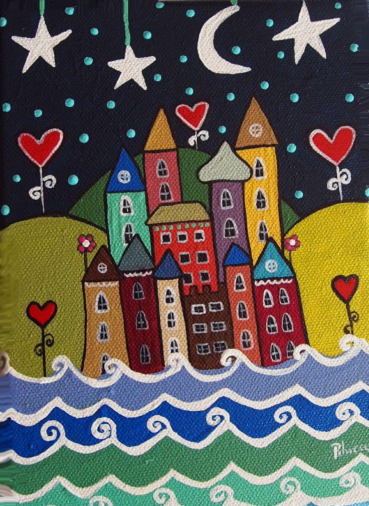 Casas sobre el mar