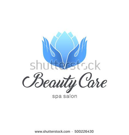 Logo template for Spa salon. Beauty care
