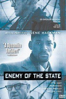 Enemy of the State (Will Smith, Gene Hackman) - 66% - An exciting action thriller.