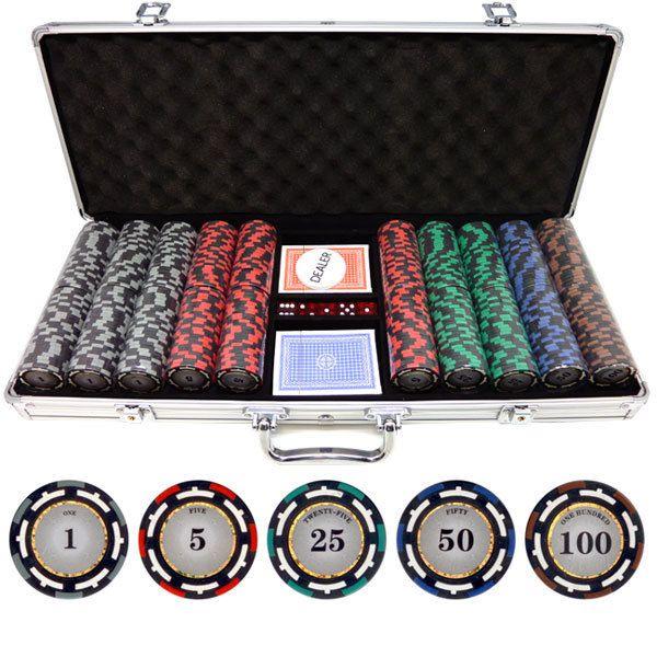9 gram casino size clay poker chips mobile casino - premium pack 1.4