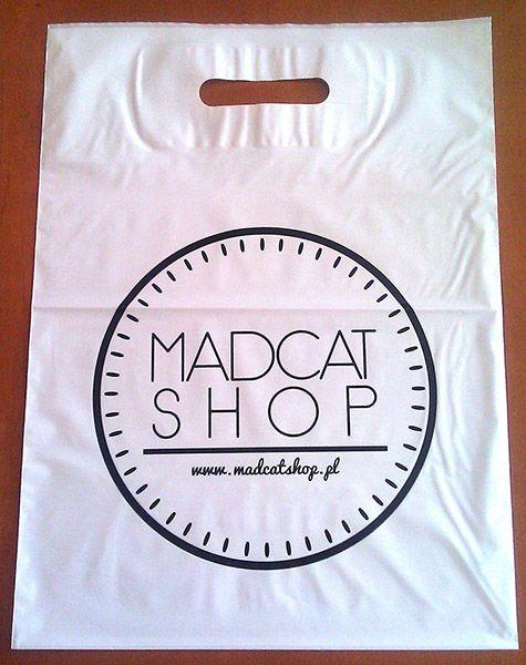 Madcat shop - reklamówka - http://mk-pak.pl