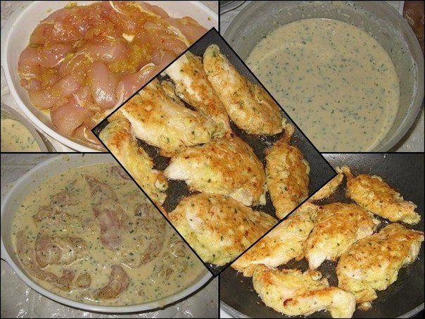 Куриное филе в кляре | Кулинарные Рецепты
