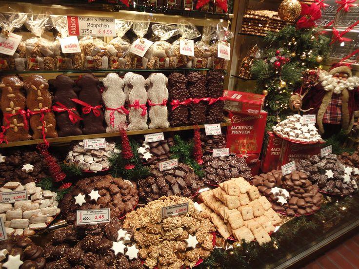 Aachener Printen am Aachener Weihnachtsmarkt