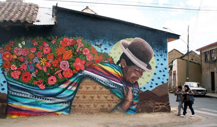 By colectivo licuado fitz t h e i c for bau bienal for Arte colectivo mural