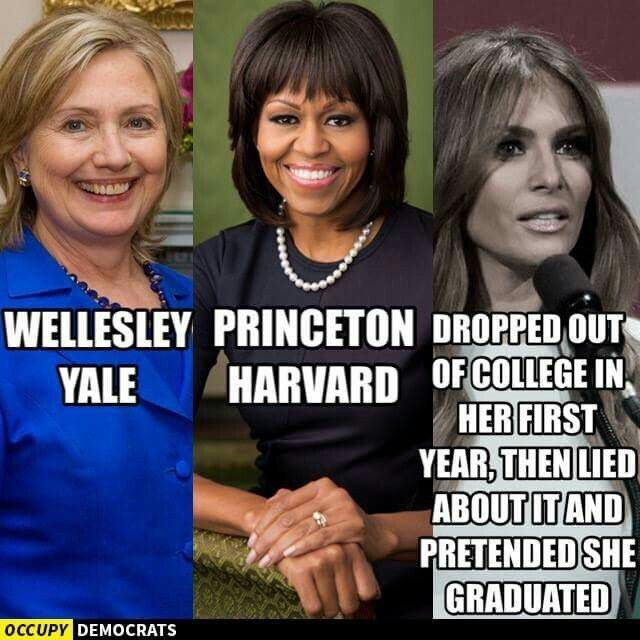 The Trumps would make the best republican first family, corrupt and dishonest to the core.