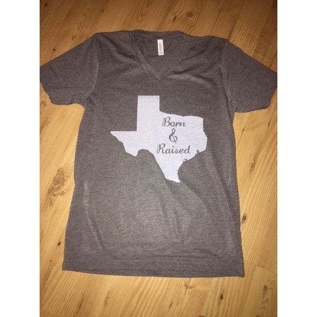 Born and Raised Texas Tee
