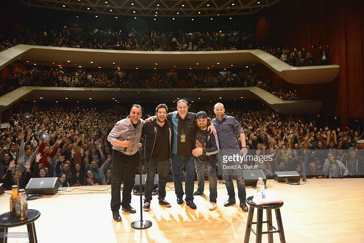 Tru TV's Impractical Jokers 'Where's Larry?' tour featuring The Tenderloins perform live at Chrysler Hall on November 23, 2015 in Norfolk, Virginia.