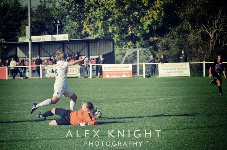 """Three Hat Tricks For Leeds Ladies on """"Great Day For Strikers"""" // Emma Bentley by Alex Knight"""