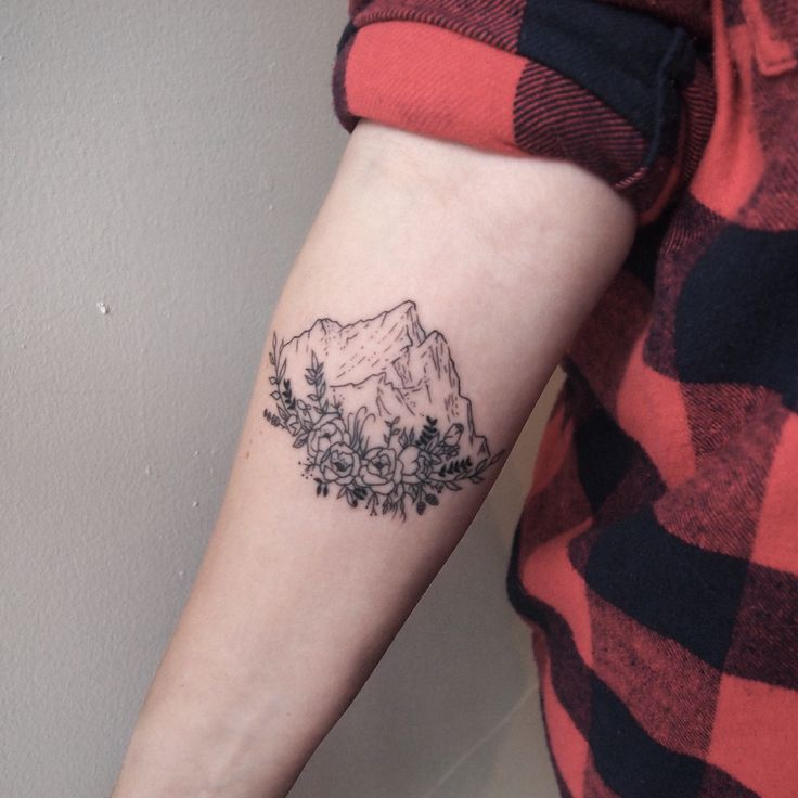 mountain #ink