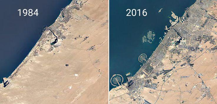 Le site Google Earth Engine Timelapse permet de voir l'évolution satellite de n'importe quel endroit sur Terre depuis 30 ans.