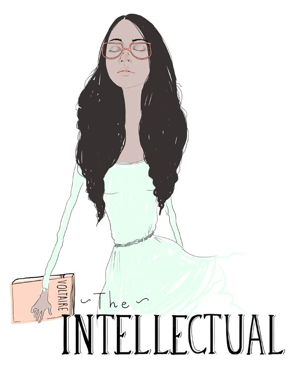 """The Intellectual. """"There is no method but to be very intelligent."""" –"""