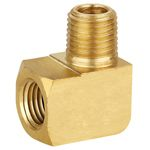 brass pipe fittings, 90° street elbow