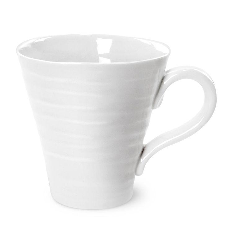 Sophie Conran for Portmeirion White Mug. 0.35l (12.5 oz). Product Code: CPW76803.  Call 905·885·9250.