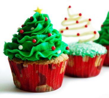 Kerstboomcupcakes | Taartenwinkel