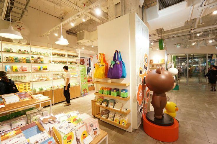 Line brand store_seoul