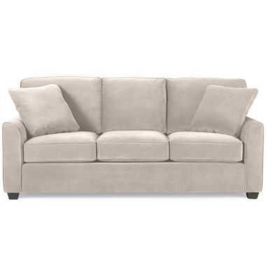 Fabric Possibilities Sharkfin Arm Sofa Found At Jcpenney