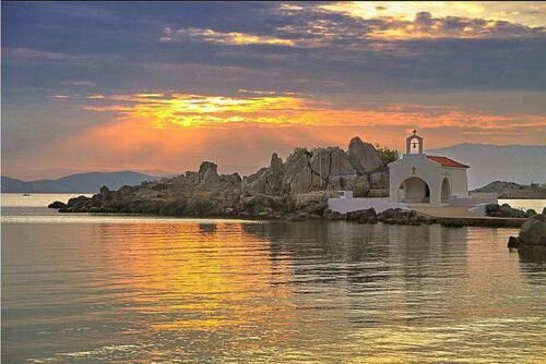 Αγιος Ισιδωρος στη Συκιαδα της Χιου ~ Agios Isidoros, Village of Sykiada, Chios
