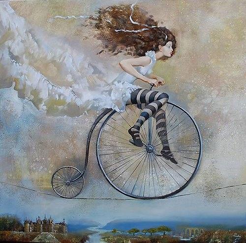 La vita è come andare in bicicletta: se vuoi stare in equilibrio devi muoverti.  [Albert Einstein]