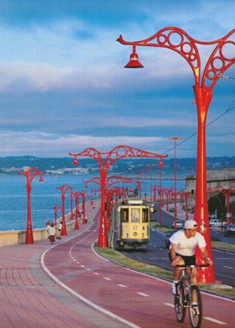 Paseo Marítimo, A Coruña - Galicia, Spain