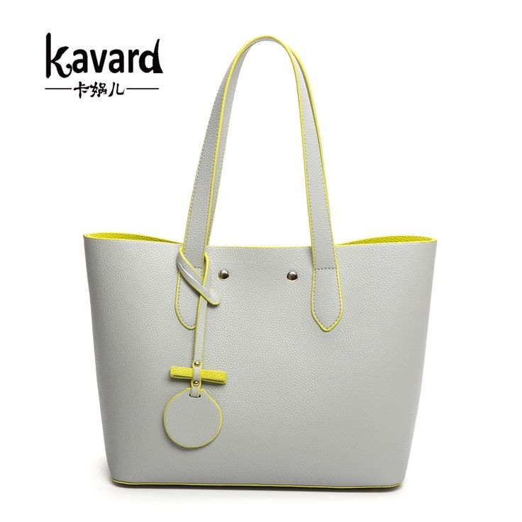 9c7379ec9e Women Composite Bag Gray PU Leather Famous Designer Purses And Handbags  2016 Luxury Handbags Women Bag Set Bolsas Bolso Mujer