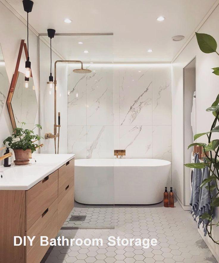 New DIY Bathroom Storage Ideas #bathroomstorage   Modernes ...
