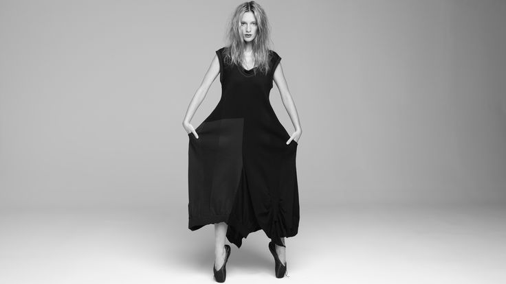 Diffusion Dress | 2 Tone (in glorious unsaturated black and white)