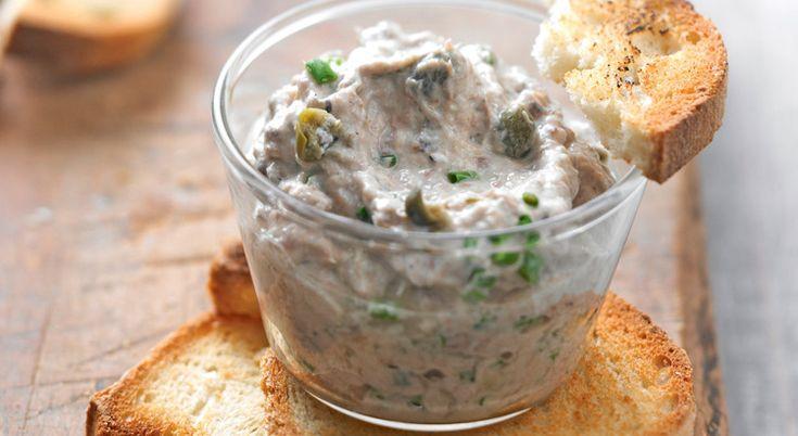 De la rillette de sardine aux câpres : un apéritif festif qui émerveillera les papilles de vos invités.