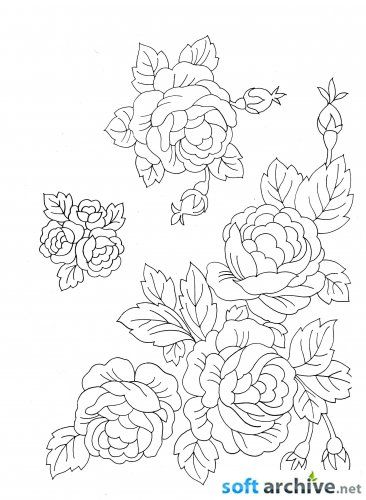 Beautiful Moroccan Embroidery Designs To download for FREE