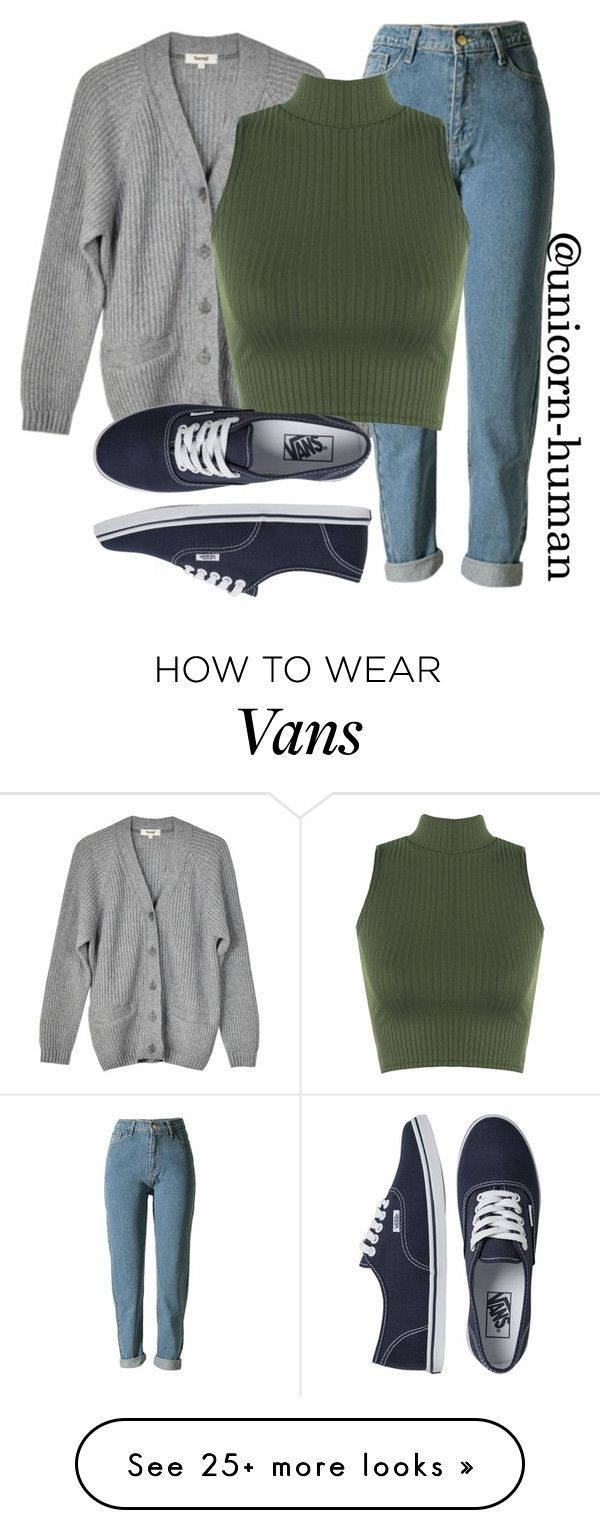 """""""Untitled #2700"""" by unicorn-human on Polyvore featuring Samuji, WearAll and Vans"""