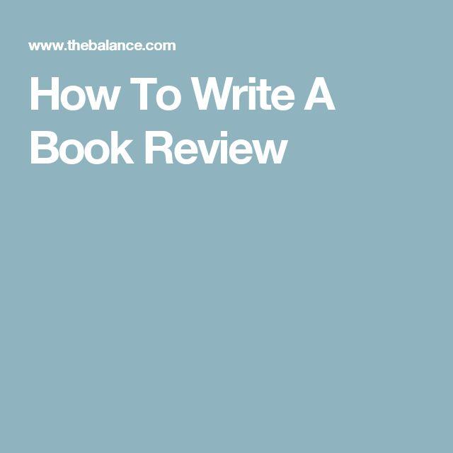 how to write good book reviews