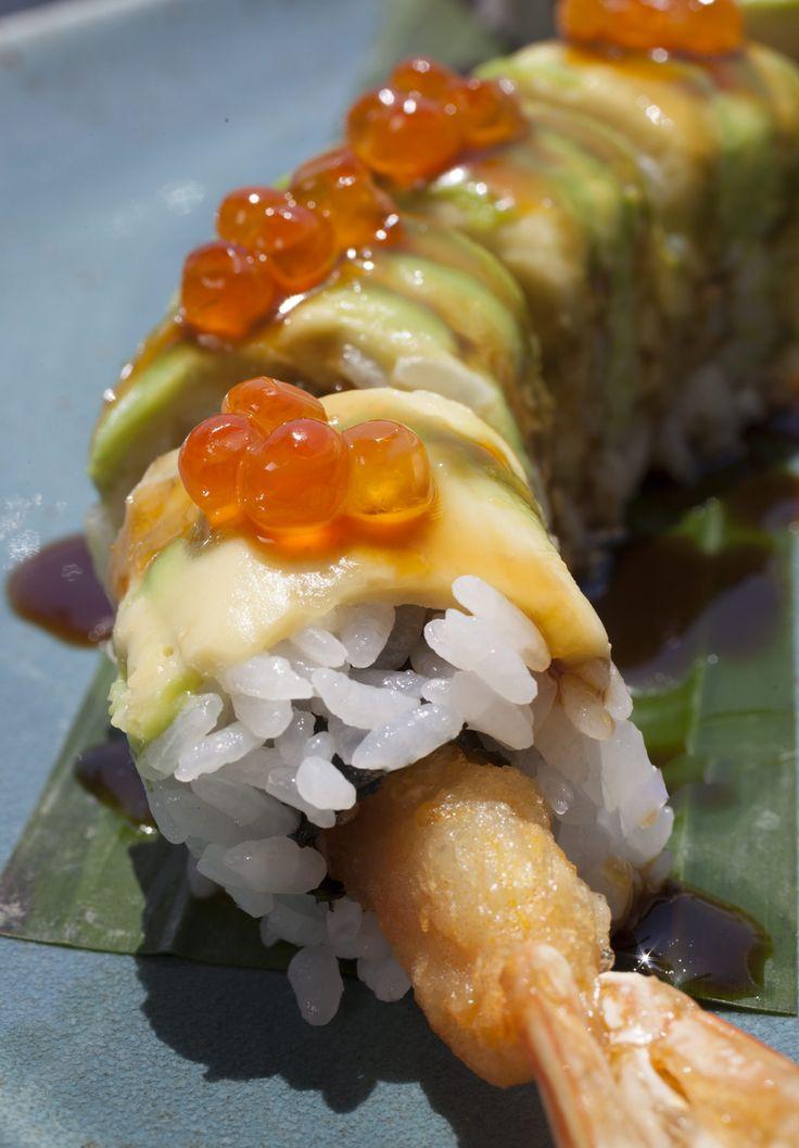 Dragon roll  #sushi #dining #finedining