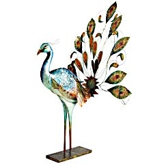 Mosaic Peacock Sconce