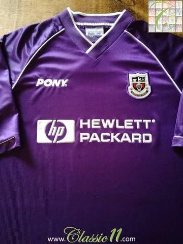 Official Pony Tottenham Hotspur away football shirt from the 1998 99 season. 293970d6a