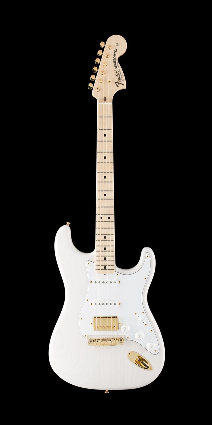 Fender Custom Shop 1971 Stratocaster - NOS - Flame Maple Neck - HSS - White Blonde - Gold Hardware.jpg