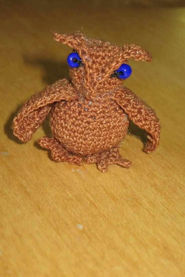 háčkovaná sova/ Crocheted owl
