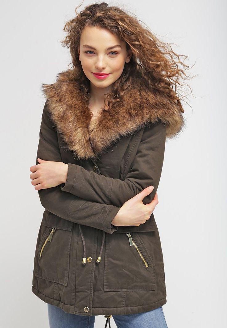 New Look MONOPOLY Parka khaki prix promo Parka femme Zalando 90.00 €