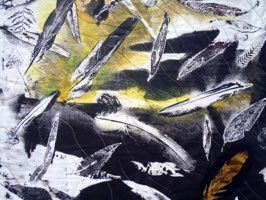Creation: Magpies-detail