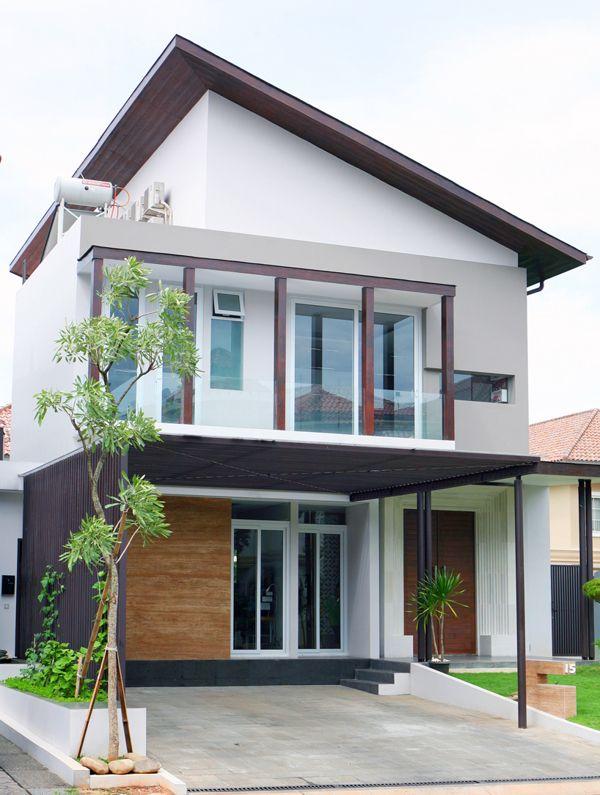 Small Tropic house by Herry Jani, via Behance