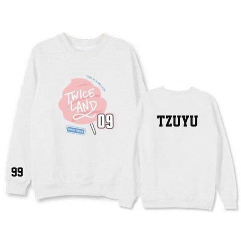 TWICE Twiceland Tzuyu 99 One in a million Cool Hot Fashion Sweatshirt #TWICE #Twiceland #Tzuyu #Oneinamillion #Cool #Hot #Fashion #Sweatshirt #KIDOLSTUFF #KPOP