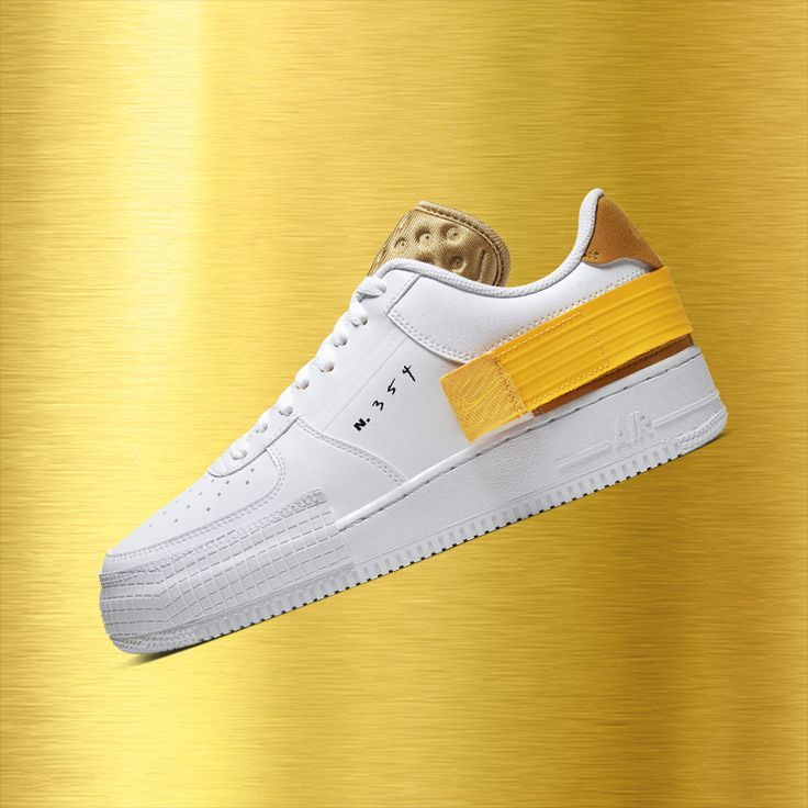restock Nike Air Force 1 Type Gold #Air #Force #gold #Nike