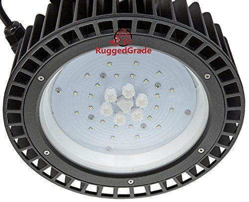 $69.49 (50% Off) on LootHoot.com - 50 Watt High Bay UFO LED Light -6,000 Lumen- Ultra Efficient 120 Lumens to Watts - Smaller and more efficient - Warehouse LED Lights - Retail Lights - Low Bay - High Bay LED Lighting